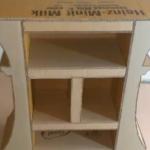 ساخت یک کتابخانه کوچک با کارتن مقوایی-مطالعه-کتاب-کتابخوانی-سرانه مطالعه-مبلمان منزل