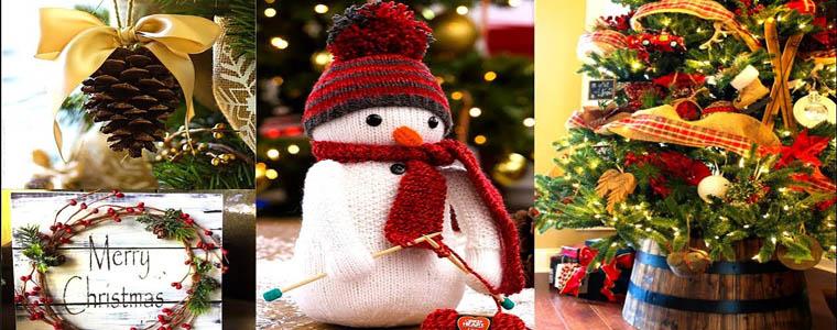 ساخت لوازم دکوری مخصوص کریسمس
