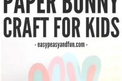کاردستی کاغذی خرگوش