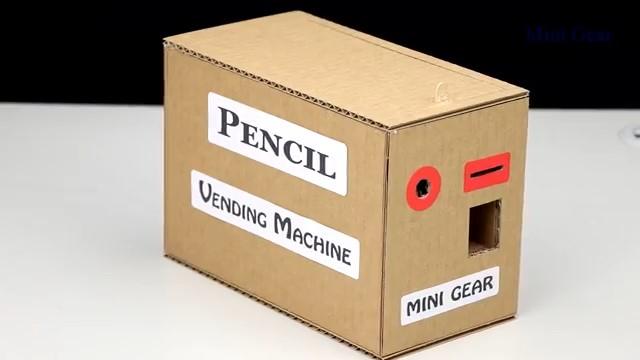 رمیچر -کاردستی - قلک2 ساخت دستگاه خودپرداز مداد با آرمیچر