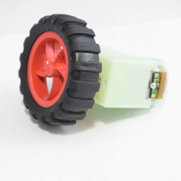 آرمیچر گربوکس دار پلاستیکی – موتور گیربوکس دار – موتور ربات – دو شفت 0