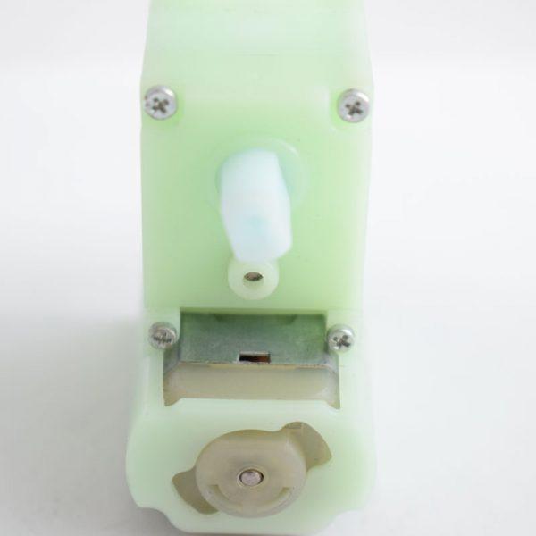 آرمیچر گربوکس دار پلاستیکی – موتور گیربوکس دار – موتور ربات – دو شفت5