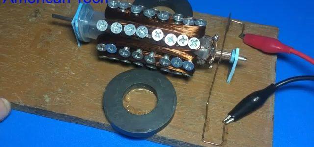 ساخت موتور الکتریکی ( آرمیچر )