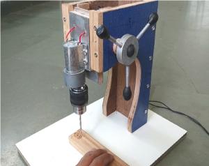 آموزش ساخت ابزار - آموزش ساخت پایه دریل - آموزش کاردستی