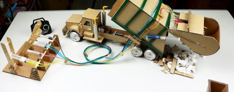 آموزش ساخت - اسباب بازی - ساخت - ماشین کنترلی - کامیون کنترلی