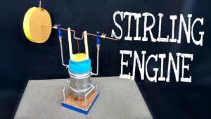 آموزش ساخت موتوراسترلینگ - موتور استرلینگ