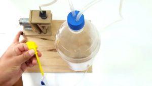 آموزش ساخت پمپ هوا - پمپ قدرتمند - دست سازه کاردستی