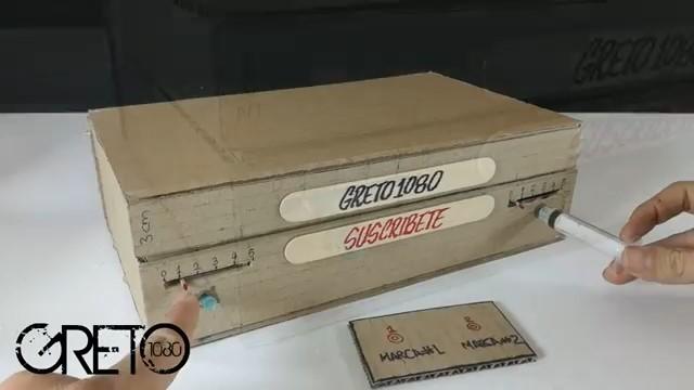 آموزش - ساخت - گاوصندوق - گاوصندوق مقوایی - گاوصندوق رمزی - هیدرولیک
