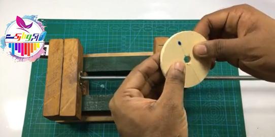 آموزش ساخت گیره زیر دریلی - گیره رومیزی