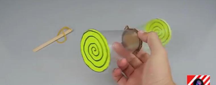ساخت هواپیمای کاغذی با استفاده از لیوان پلاستیکی