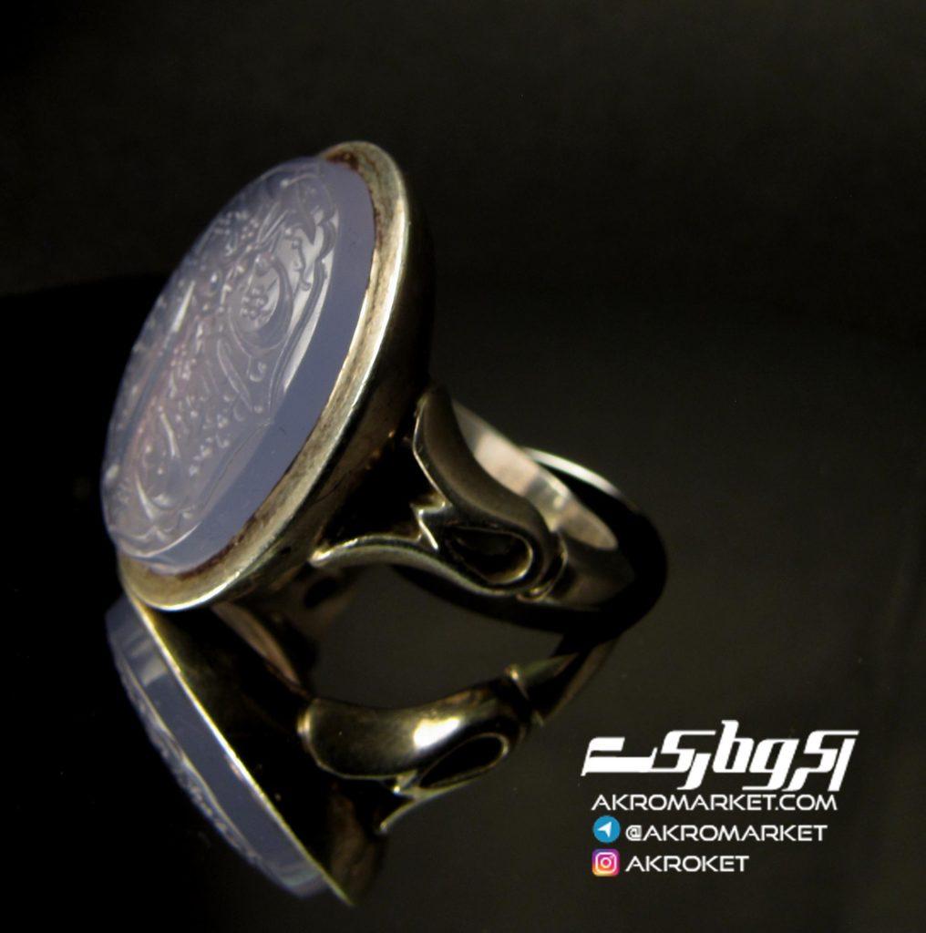 انگشتر – عقیق – کبود نقره (3)