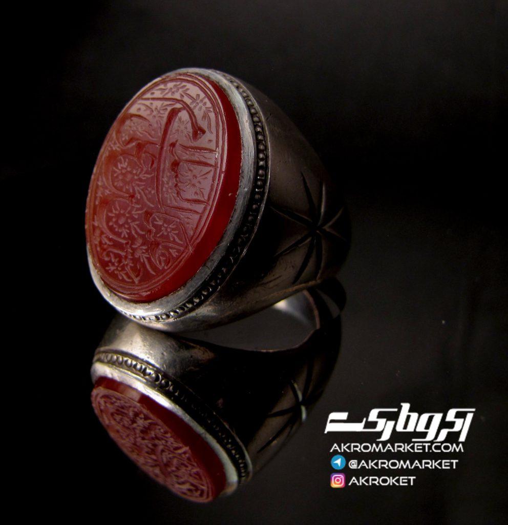 انگشتر – نقره – دست ساز – فروش – عقیق (2)