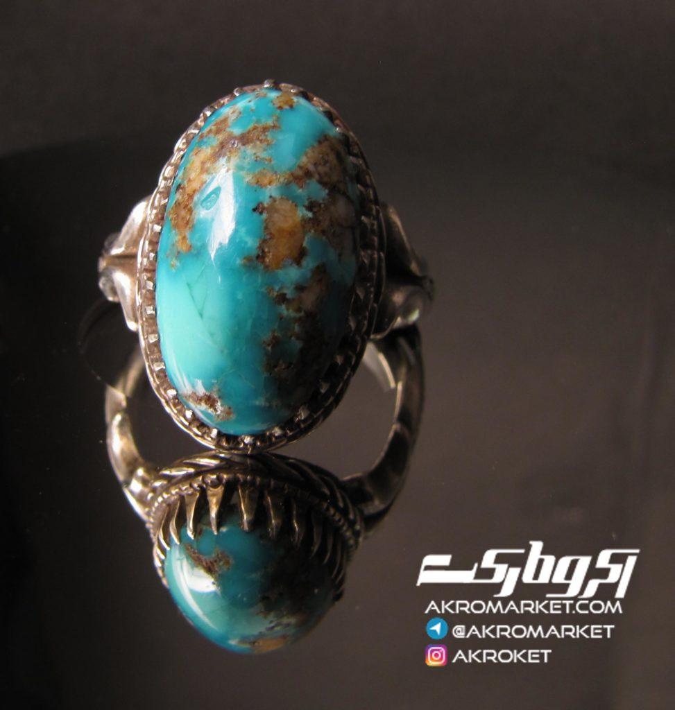 انگشتر – نقره – دست ساز – فروش – فیروزه(2)
