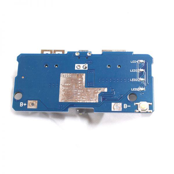 برد ساخت پاور بانک – ماژول شارژ و دشارژ باتری لیتیومی ماژول پاوربانک 01