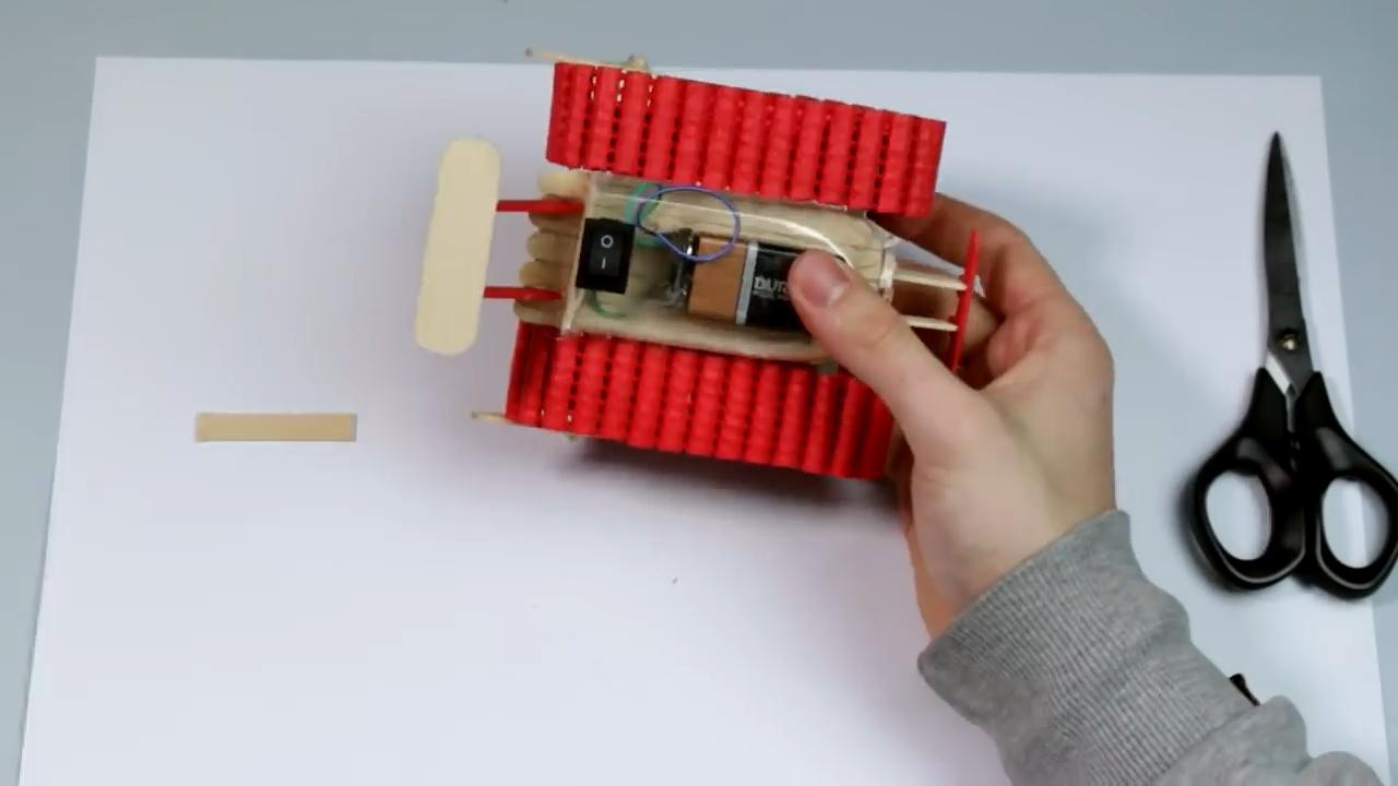تانک-اسباب-بازی-آموزش-ساخت-چگونه-کاردستی