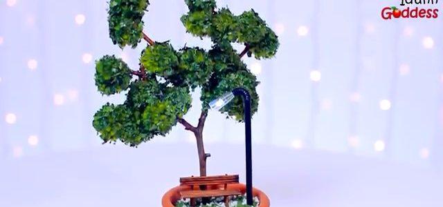 ساخت ماکت تزئینی درخت