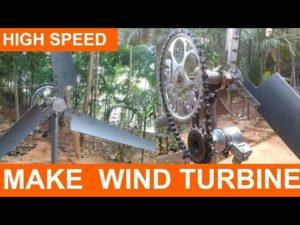توربین بادی آموزش ساخت توربین بادی - ژنراتور بادی