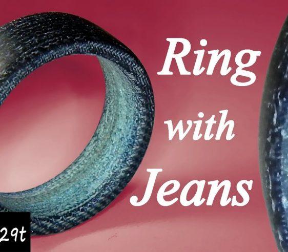 حلقه از جنس جین بسازید و بفروشید