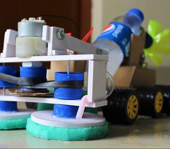 ربات زمین شوی