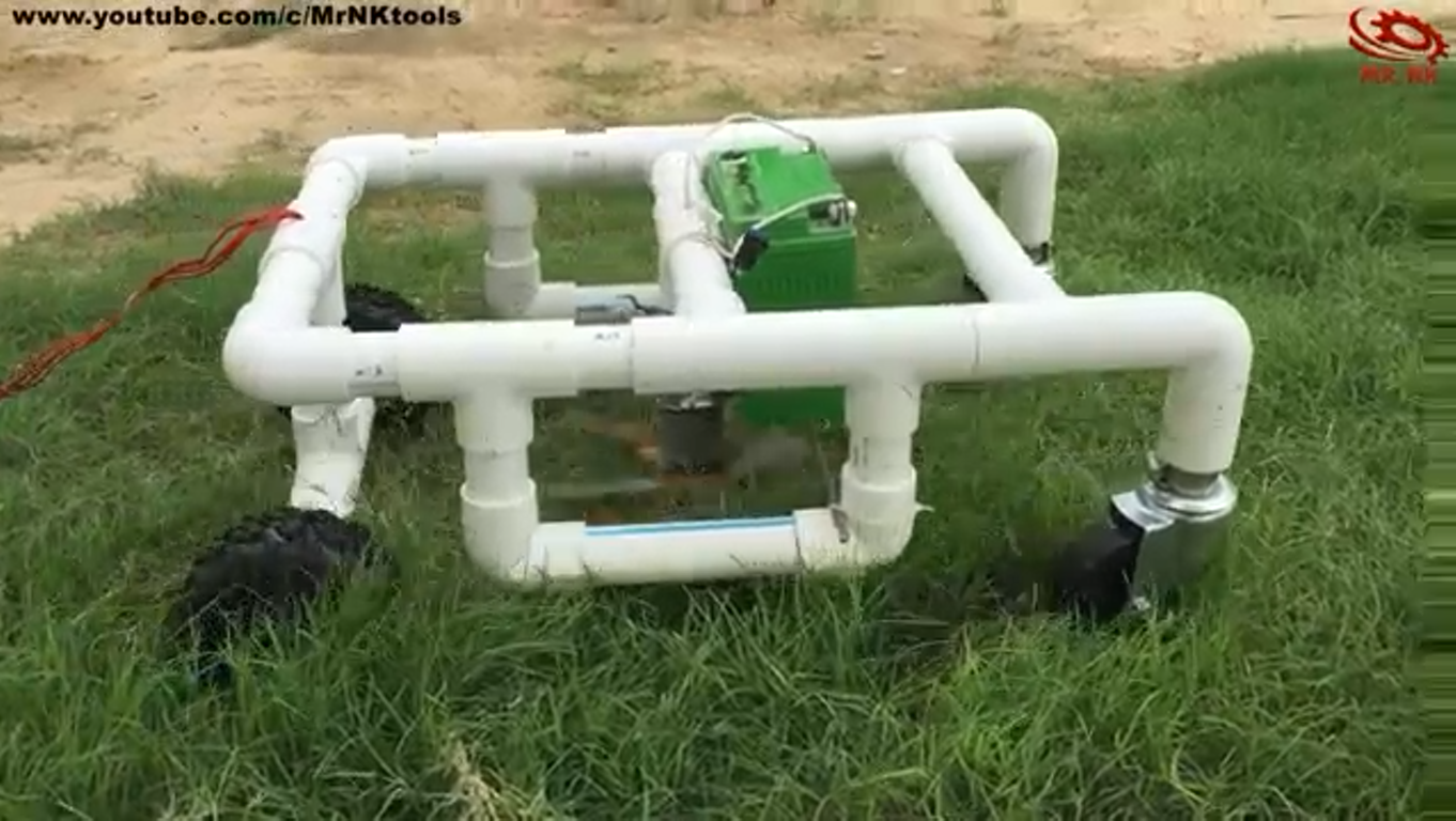روبات-چمنزن- کنترلی-ابزار-لوله