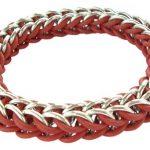 زنجیر پرشین - زنجیر بات دستبند - زنجیر ببافیم آموزش بافت زنجیر2