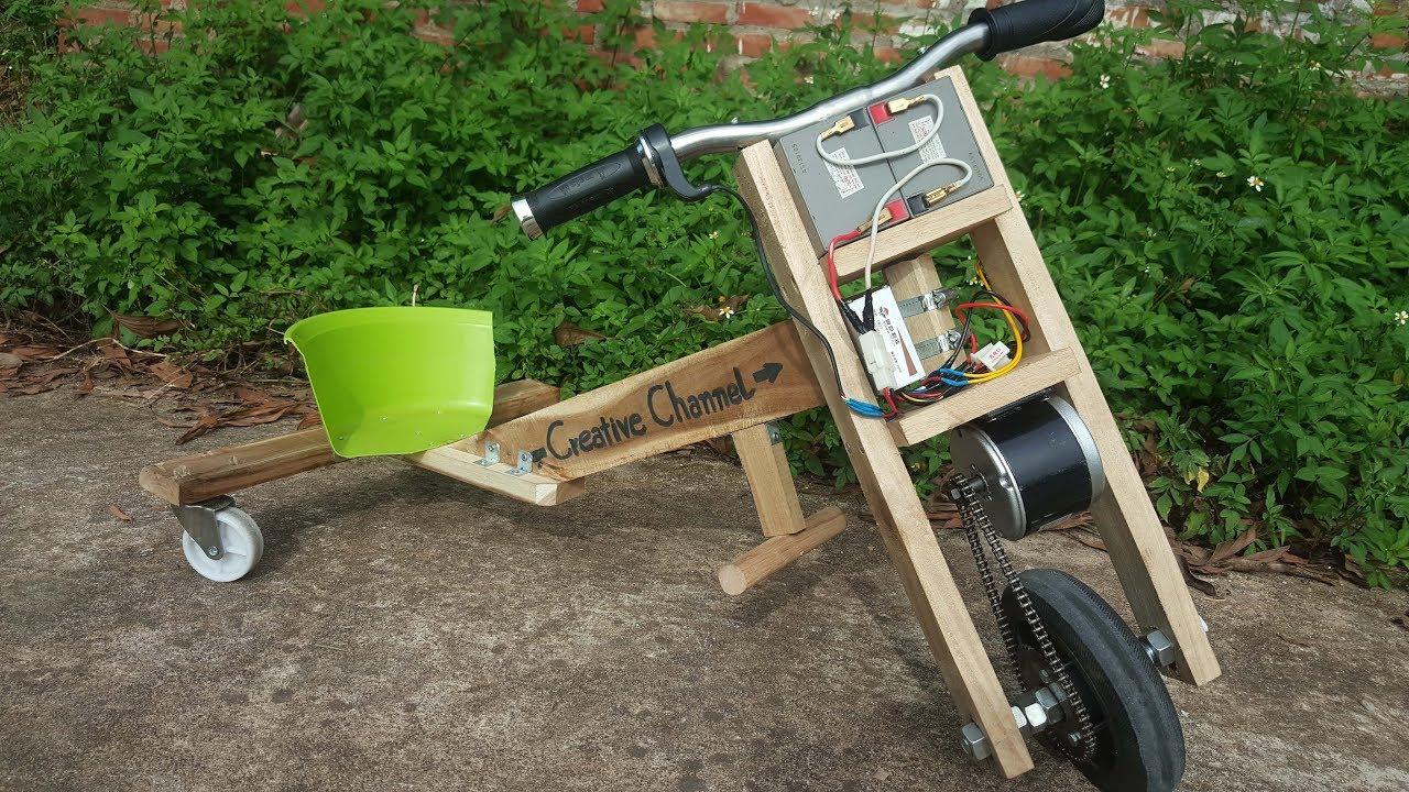 سااخت موتور الکتریکی - آموزش - ساخت - موتور سه چرخ