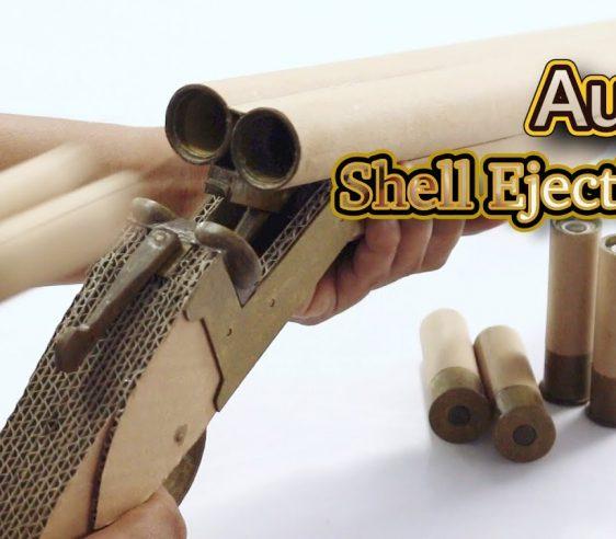 ساخت تفنگ دو لول با کارتن