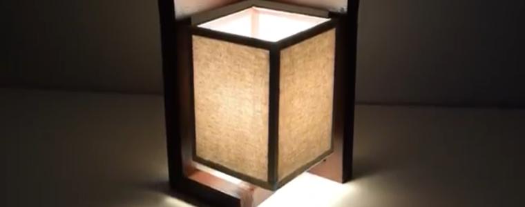 ساخت روشنایی رومیزی