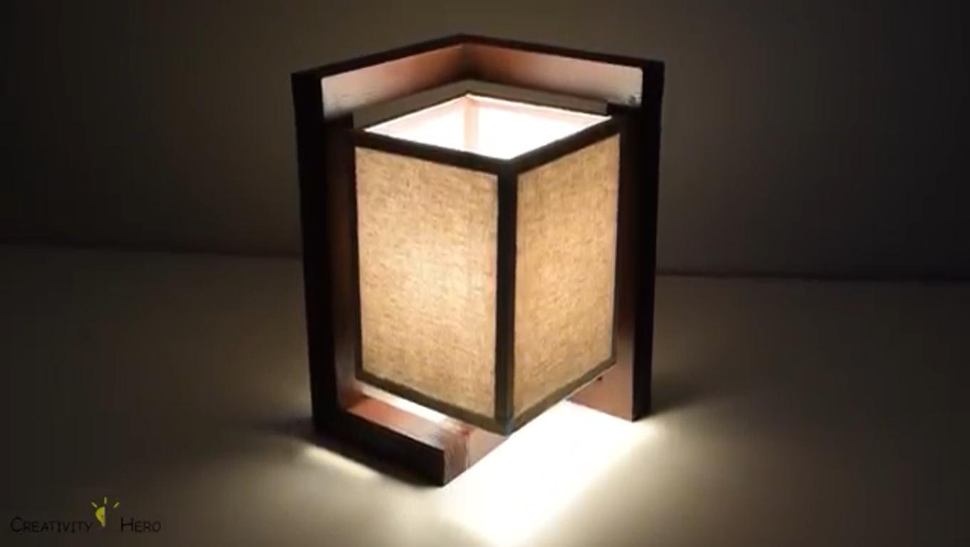 ساخت روشنایی رومیزی- چراغ مطالعه-شبچراغ-روشنایی فانتزی-روشنایی کلاسیک