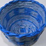 ساخت سبد با روزنامه-کاردستی-صنایع دستی-کهن-فرهنگ-اقوام-روزنامه باطله-دگردیسی صنایع دستی