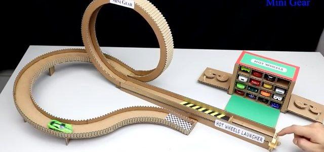 ساخت پیست مارپیچ ویژه ماشینهای اسباببازی