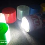 ساخت چراغقوه LED با قوطی اسپری رنگ-بازیافت زباله- محیط زیست-روشنایی-شبچراغ-چراغقوه سارژی