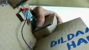 ساخت کتابخانـه با کارتن ساخت کمباین با مقوا کارتن - آکرومارکت mimplus.ir