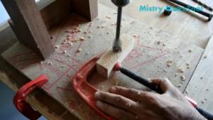 ساخت گیره نجاری-درودگری-منبتکاری-گیره دریل-وسایل چوبی-چوب-احیاء جنگلها