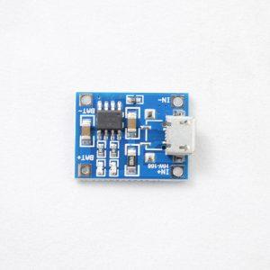 ماژول شارژر باطری لیتیومی - شارژر باتری لیتیومی شارژر یو اس بی1