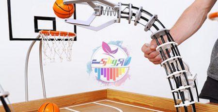 میز بازی بسکتبال مهندسی ساز بسازید