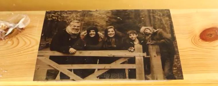 چاپ عکس بر روی چوب