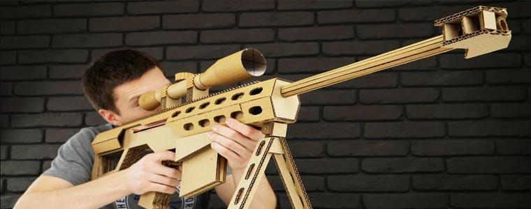 ساخت تفنگ دوربین دار ( اسنایپر ) اسباب بازی