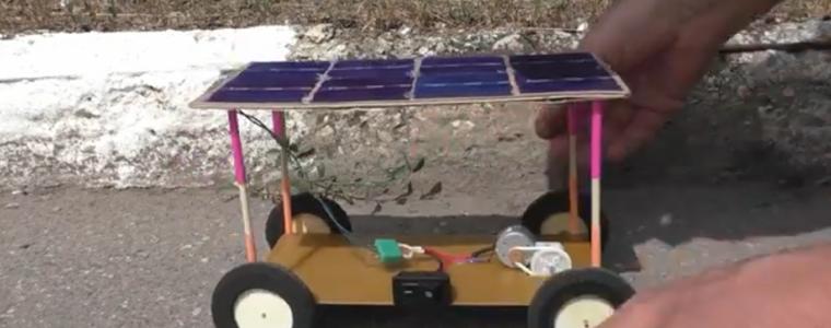 ساخت خودرو با صفحه سولار