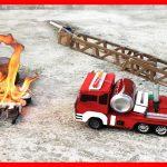 ماشین - ماشین آتش نشانی - ماشین آب پاش