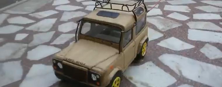 ساخت ماشین کنترلی (Land Rover Car)