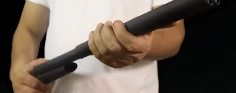 ساخت اسلحه دولول اسباببازی Shotgun