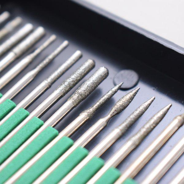 مجموعه 30 عددی فرز انگشتی های فرم با پودر الماس02