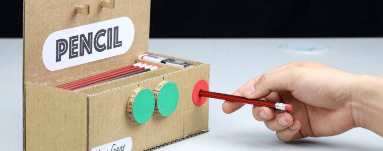 ساخت جامدادی باقفل رمزی و مدادتراش برقی