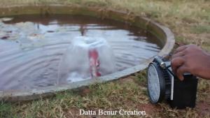 ساخت پمپ فواره آب