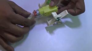 چگونه ربات بسازیم-ربات-بالارونده-دیوارپیما-کاردستی-صعود