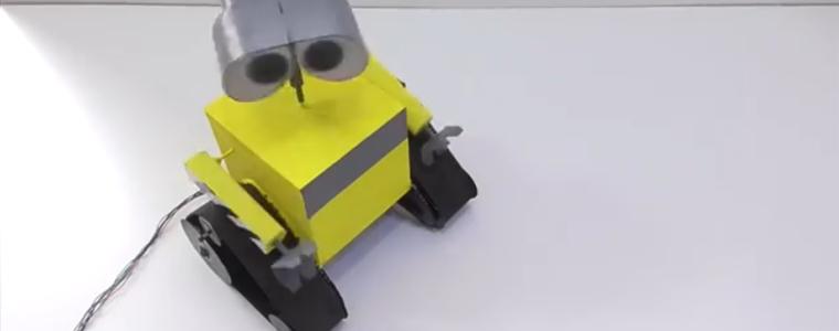 ساخت روبات WALL-E