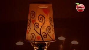 کاردستی-دست-سازه-جا-شمعی-شمعدان-صنایع-دستی-آموزش-چگونه
