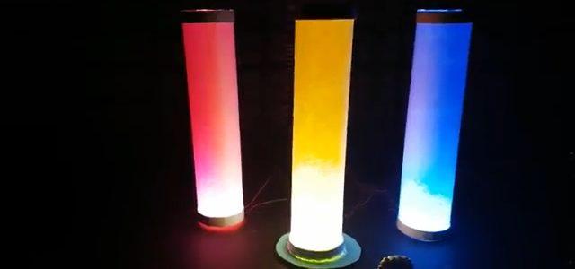 آموزش ساخت شب چراغ رنگی