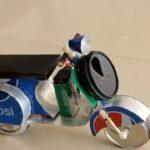 کاردستی - موتور - وسپا - آموزش - دست سازه - ماکت